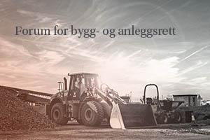 Forum for bygg og anleggsrett_traktor